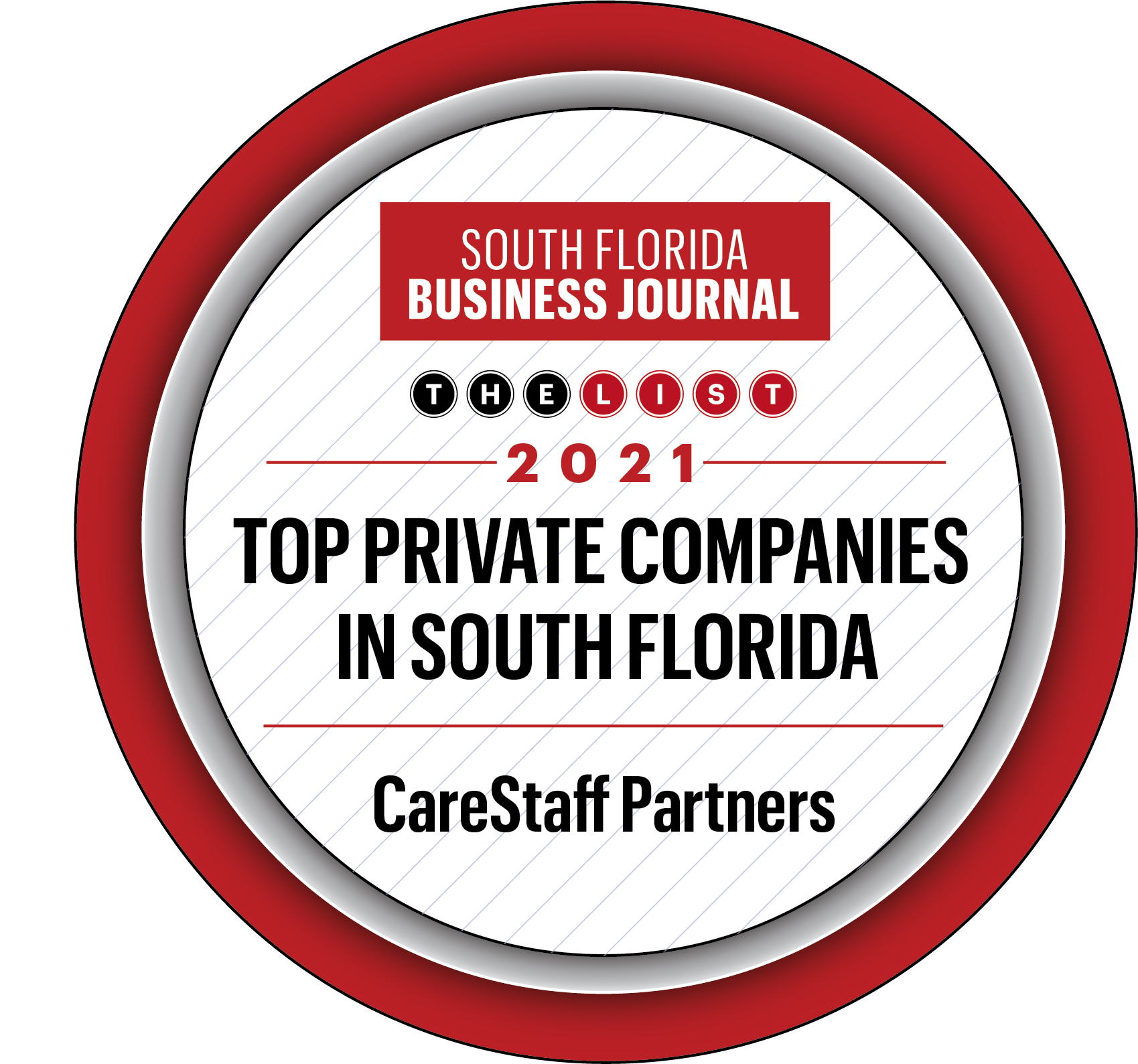SFLBJ Top Private Companies Badge PNG